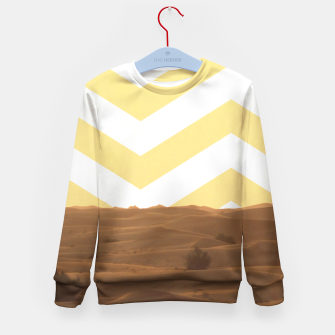 Thumbnail image of Desert Lifestyle Kid's Sweater, Live Heroes