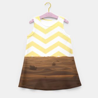 Thumbnail image of Desert Lifestyle Girl's Summer Dress, Live Heroes