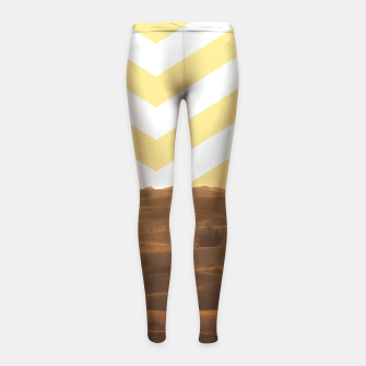 Thumbnail image of Desert Lifestyle Girl's Leggings, Live Heroes