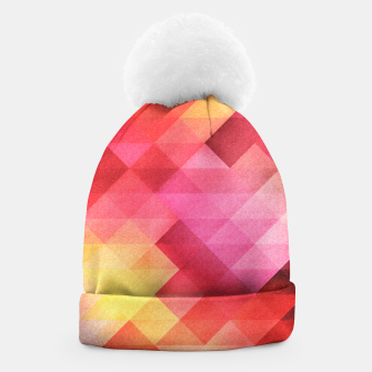 Thumbnail image of Fall pattern Beanie, Live Heroes