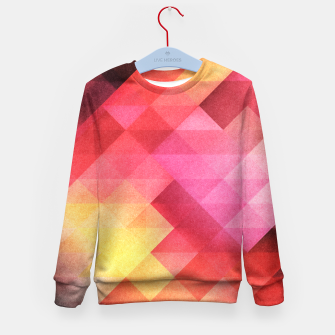 Thumbnail image of Fall pattern Kid's Sweater, Live Heroes