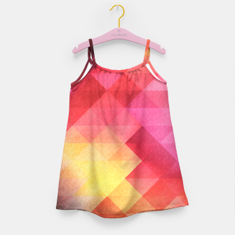 Thumbnail image of Fall pattern Girl's Dress, Live Heroes