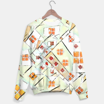 Thumbnail image of Confused Abstract Painting  Sweater, Live Heroes