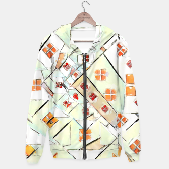 Thumbnail image of Confused Abstract Painting  Hoodie, Live Heroes