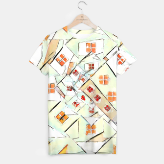Thumbnail image of Confused Abstract Painting  T-shirt, Live Heroes