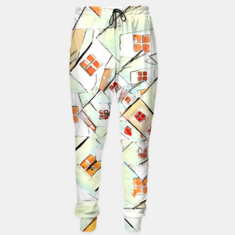 Thumbnail image of Confused Abstract Painting  Sweatpants, Live Heroes