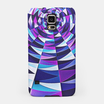 Pink / Purple Abstract Tunnel Abstract Circle  Samsung Case obraz miniatury