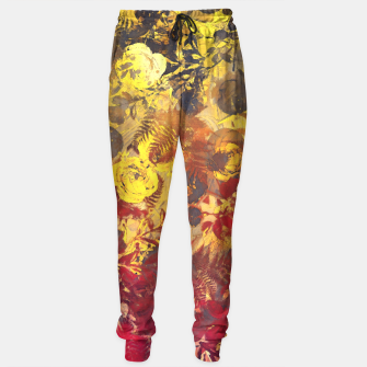 Thumbnail image of flowers yellow Sweatpants, Live Heroes