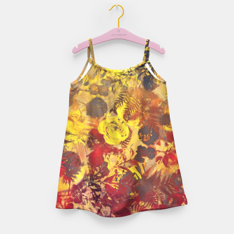 Thumbnail image of flowers yellow Girl's Dress, Live Heroes