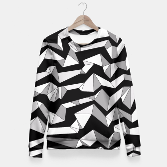 Miniature de image de Polynoise Lowpoly Fitted Waist Sweater, Live Heroes