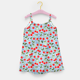 Cherries! by Veronique de Jong Girl's Dress thumbnail image
