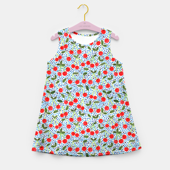 Cherries! by Veronique de Jong Girl's Summer Dress thumbnail image