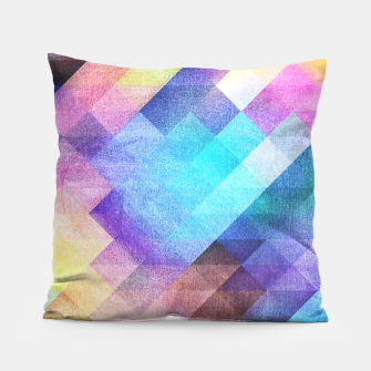 Thumbnail image of Pattern 10 Pillow, Live Heroes