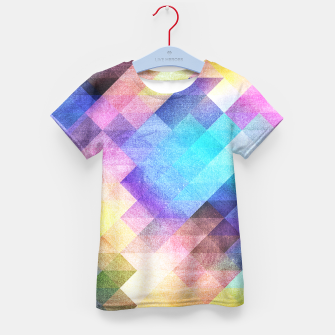 Thumbnail image of Pattern 10 Kid's T-shirt, Live Heroes