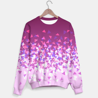 Thumbnail image of Pink Disintegrate Sweater, Live Heroes
