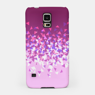 Thumbnail image of Pink Disintegrate Samsung Case, Live Heroes