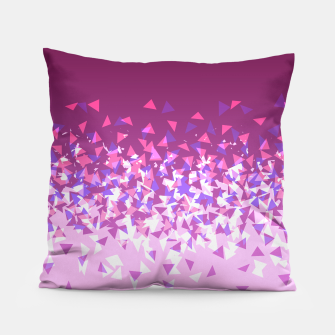 Thumbnail image of Pink Disintegrate Pillow, Live Heroes
