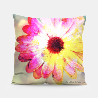 Thumbnail image of Pop - pink flower Coussin, Live Heroes