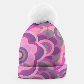 Thumbnail image of Floral Riot Pink-wash Beanie, Live Heroes