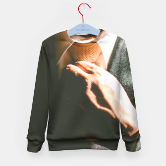 Thumbnail image of А Perfect Stranger / Fashion Businessman Photography Kid's Sweater, Live Heroes
