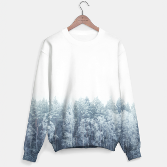 Thumbnail image of Frosty forest feelings Sweater, Live Heroes