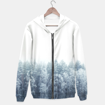 Thumbnail image of Frosty forest feelings Hoodie, Live Heroes