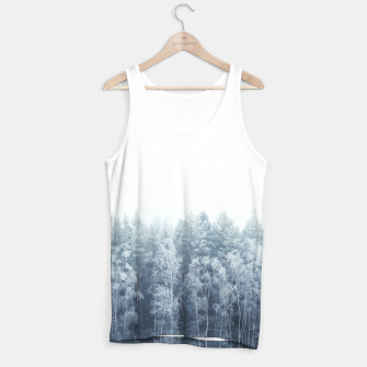 Miniature de image de Frosty forest feelings Tank Top, Live Heroes