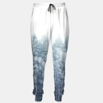 Miniature de image de Frosty forest feelings Sweatpants, Live Heroes