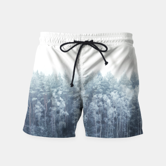 Thumbnail image of Frosty forest feelings Swim Shorts, Live Heroes
