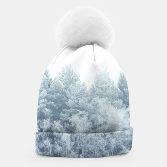 Miniature de image de Frosty forest feelings Beanie, Live Heroes