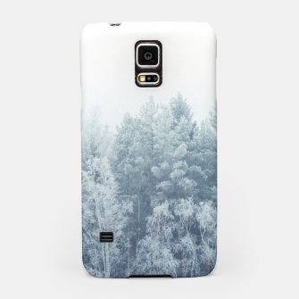 Miniature de image de Frosty forest feelings Samsung Case, Live Heroes