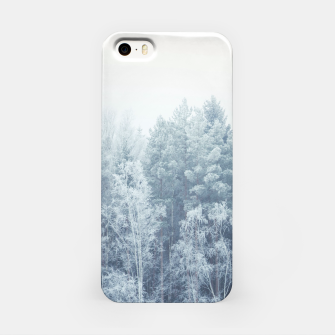 Miniature de image de Frosty forest feelings iPhone Case, Live Heroes