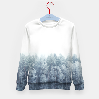 Miniature de image de Frosty forest feelings Kid's Sweater, Live Heroes