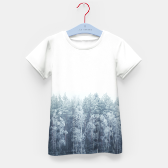 Thumbnail image of Frosty forest feelings Kid's T-shirt, Live Heroes
