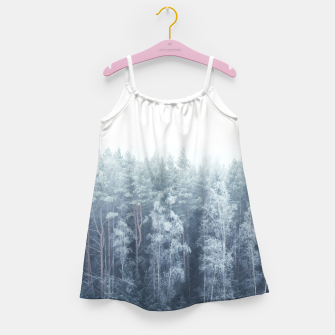 Miniature de image de Frosty forest feelings Girl's Dress, Live Heroes