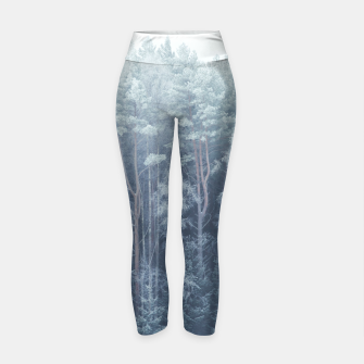 Miniature de image de Frosty forest feelings Yoga Pants, Live Heroes