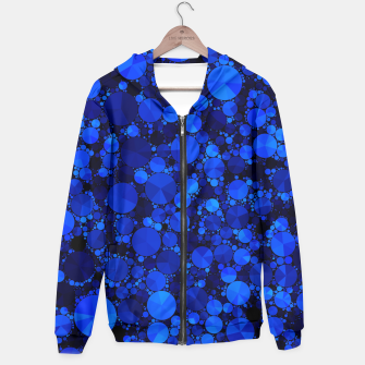 Thumbnail image of Blue Cheetah Bling Pattern  Hoodie, Live Heroes