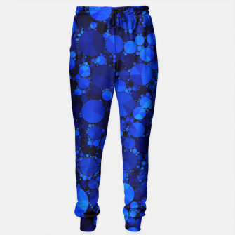 Thumbnail image of Blue Bling Pattern  Sweatpants, Live Heroes