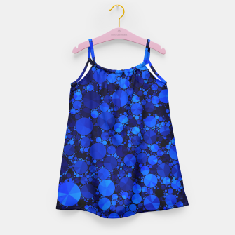 Thumbnail image of Blue  Bling Pattern  Girl's Dress, Live Heroes