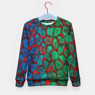 Thumbnail image of Crazy Cheetah Print Pattern  Kid's Sweater, Live Heroes