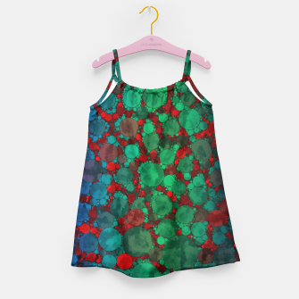 Thumbnail image of Crazy Cheetah Print Pattern  Girl's Dress, Live Heroes