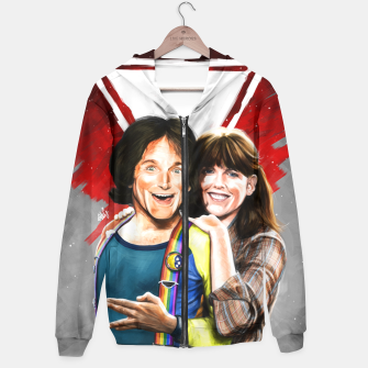 Thumbnail image of Mork & Mindy movie poster Hoodie, Live Heroes
