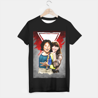 Thumbnail image of Mork & Mindy movie poster T-shirt regular, Live Heroes