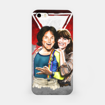 Thumbnail image of Mork & Mindy movie poster iPhone Case, Live Heroes