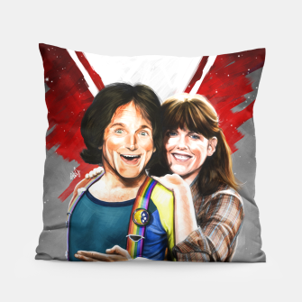 Thumbnail image of Mork & Mindy movie poster Pillow, Live Heroes