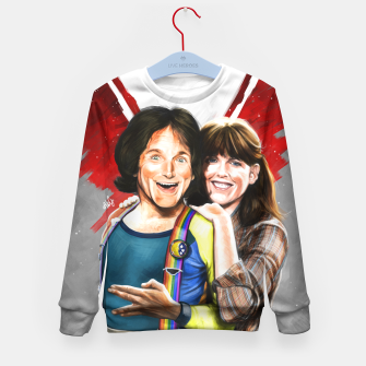 Thumbnail image of Mork & Mindy movie poster Kid's Sweater, Live Heroes