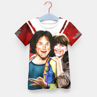 Thumbnail image of Mork & Mindy movie poster Kid's T-shirt, Live Heroes