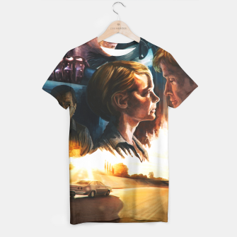 Thumbnail image of Drive movie poster T-shirt, Live Heroes