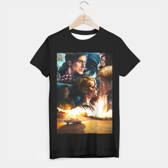 Thumbnail image of Drive movie poster T-shirt regular, Live Heroes