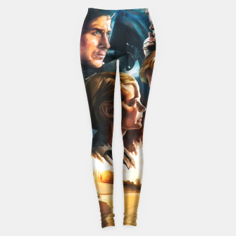 Thumbnail image of Drive movie poster Leggings, Live Heroes